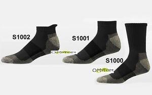 Aetrex Copper Sole Athletic Socks Cushioning Crew Ankle