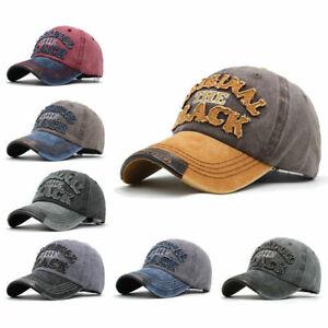 Mens-Womens-Word-Print-Hat-Adjustable-Snapback-Trucker-Golf-Sport-Baseball-Cap