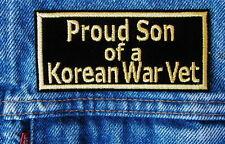 PROUD SON OF A KOREAN WAR VET Biker Motorcycle Patch by DIXIEFARMER