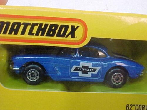 MATCHBOX SUPERFAST JAPAN ISSUE MB42 62 CORVETTE NEW IN BOX