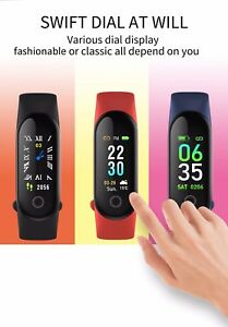 M30-Sports-Smart-Bracelet-with-Heart-Rate-Monitor-Blood-Pressure-Pedometer-Black