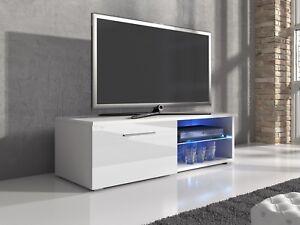 Meuble-TV-Armoire-Samuel-120-cm-Corps-Blanc-Mat-Brillant-Blanc-Avant