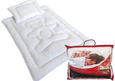 Baby Baby Set Bett Kinder Bettdecke Set Steppbett+kissen100x135/40x60 Premium Bärchen Bequem Zu Kochen