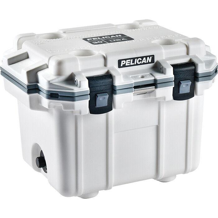 PELICAN 30QT ELITE  COOLER Ice Chest Insulated Cooler Ice Retention Outdoor Gear  shop online