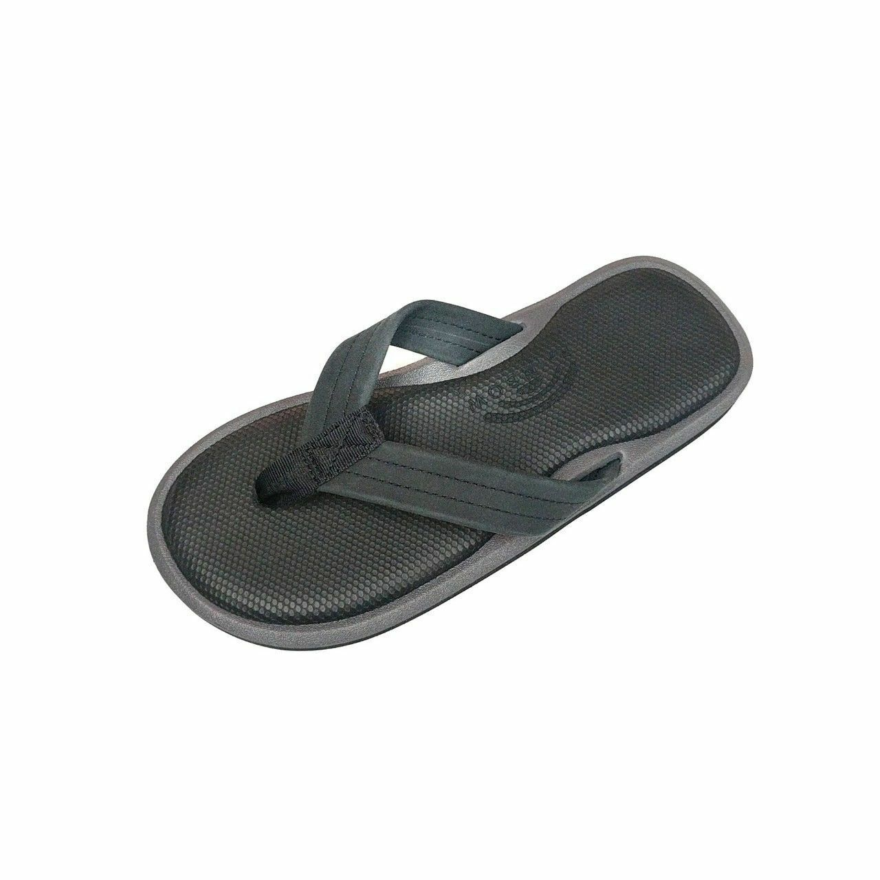92928629028e Men Rainbow The Islander Sandal Rubber Black gray 7