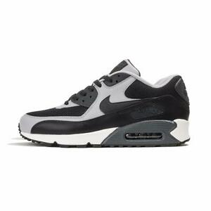 best service 204f2 ace4b Image is loading NIKE-AIR-MAX-90-ESSENTIAL-537384-053-BLACK-