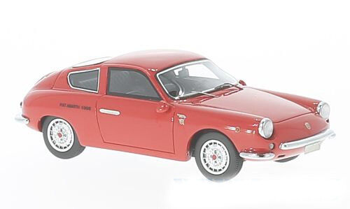 Neo Scale Model 1:43 44605 Abarth 1000 GT Monomille 1963 RED NEW