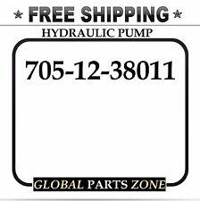 NEW HYDRAULIC PUMP for KOMATSU GD825A-2 705-12-38010 705-12-38011 FREE SHIPPING!