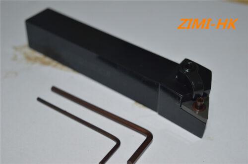 MTJNL2020K16 20×125mm Left External Lathe Turning Holder For TNMG160404//08//02