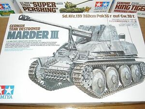 35255 Tamiya 1//35 Scale Marder III M Parts Tree H from Kit No