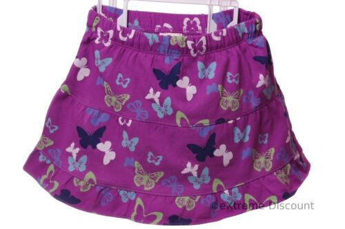 Girls Old Navy Purple Butterfly Skirt Skort Scooter 12 18 24 month 2T 5T NEW
