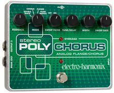 EHX Electro Harmonix Stereo Polychorus, Free US Exprss Shipping,Free Global Ship