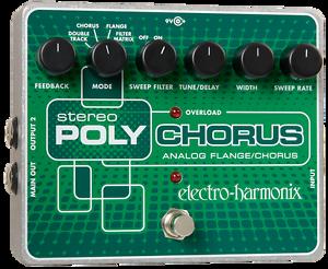 Ehx Electro Harmonix Stereo Polychorus, Look-afficher Le Titre D'origine