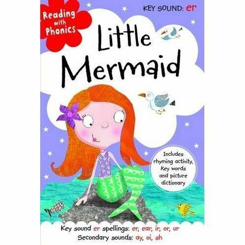 1 of 1 - Little Mermaid (Reading with Phonics), Fennell, Clare, Very Good Book