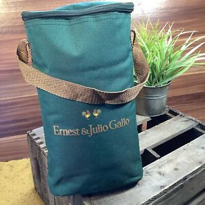 Ernest & Julio Gallo Wine Chiller Cooler Bag - Beach Picnic Food Sandwich Holder