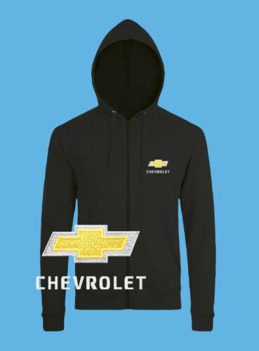 CHEVROLET zipp sweat-shirt Logo Voiture Logo Hommes Capuche Hoodie