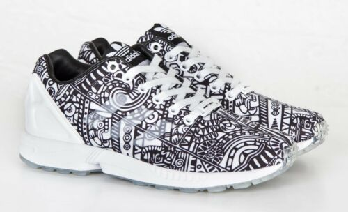 aebd824fee0d7 Flux And Uk Black Originals Men s Adidas White Us Trainers Zx Geo 5 Pattern 7  7 Yx4wwAtqU