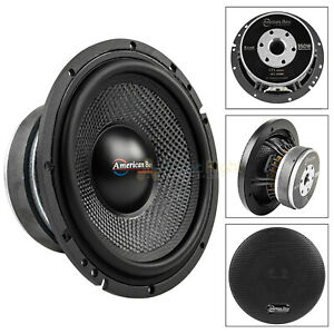 American-Bass-VFL-65MB-6-5-034-Midbass-Car-Speaker-4-Ohm-350W-Max-Open-Back-Single