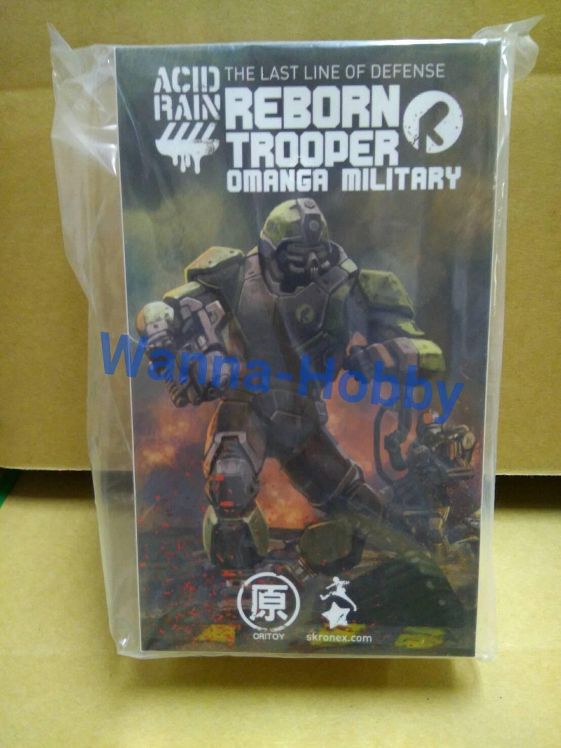 [W.H]MISB 50619 Ori Toy Reborn Trooper Omanga Military 1 18 Acid Rain
