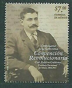 Mexico Mail 2014 Yvert 2882 MNH General Eulalio Ortiz