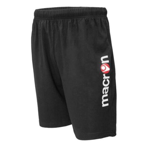 Macron Pantaloncini Bermuda Allenamento Atum Shorts Fitness Palestra Running