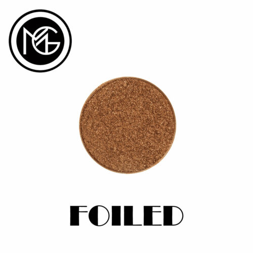 Makeup Geek Foiled Eye Shadow Pan LEGEND metallic warm bronze VEGAN