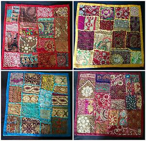 Cubierta-Cojin-indio-coloridas-lentejuelas-Patchwork-Brillante-Brillante-Brillante-Sofa-Cama