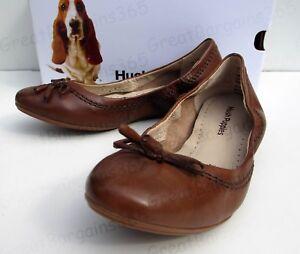 Hush-Puppies-Womens-Lexa-Heather-Bow-Ballet-Slip-on-Pumps-Flats-Tan-UK-4-5-6-7