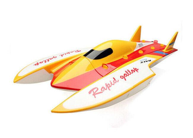 Motoscafo Radiocouomodato  WLgiocattoli WL913 Brushless High Speed Racing Boat 2.4Ghz  comprare sconti