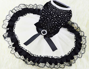 Dog-Pet-Bow-Tutu-Dress-Lace-Skirt-Cat-Puppy-Princess-Costume-Apparel-Clothes