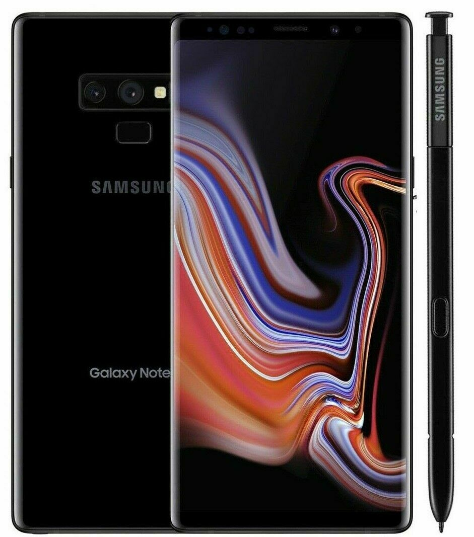 Samsung Galaxy: Samsung Galaxy Note 9 Grado A++ SM-N960F 128 GB  Nero Black Ricondizionato