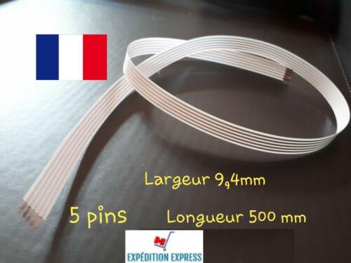1 Nappe FFC 5 pins pour contacteur tournant câble airbag RENAULT.