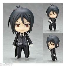 "New Nendoroid Figure Kuroshitsuji Black Butler Sebastian Cute Figure Anime 4"""