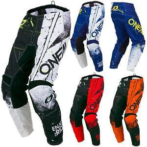 O-039-Neal-elemento-Shred-Motocross-Pantaloni-MX-Moto-Downhill-MTB-Mountain-Bike-Cross