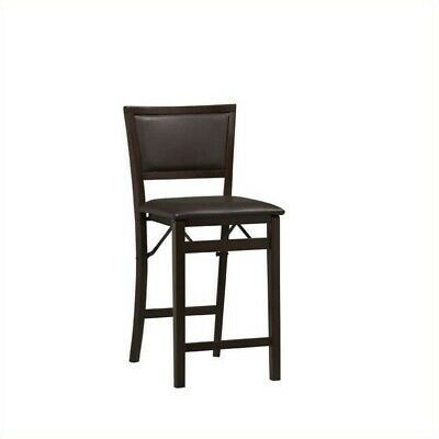 Incredible Riverbay Furniture 24 Pad Back Folding Counter Stool In Espresso 680270592407 Ebay Spiritservingveterans Wood Chair Design Ideas Spiritservingveteransorg