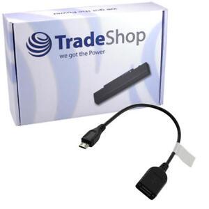 USB micro-B Stecker auf USB A Buchse OTG Kabel Handy Adapter für Drucker