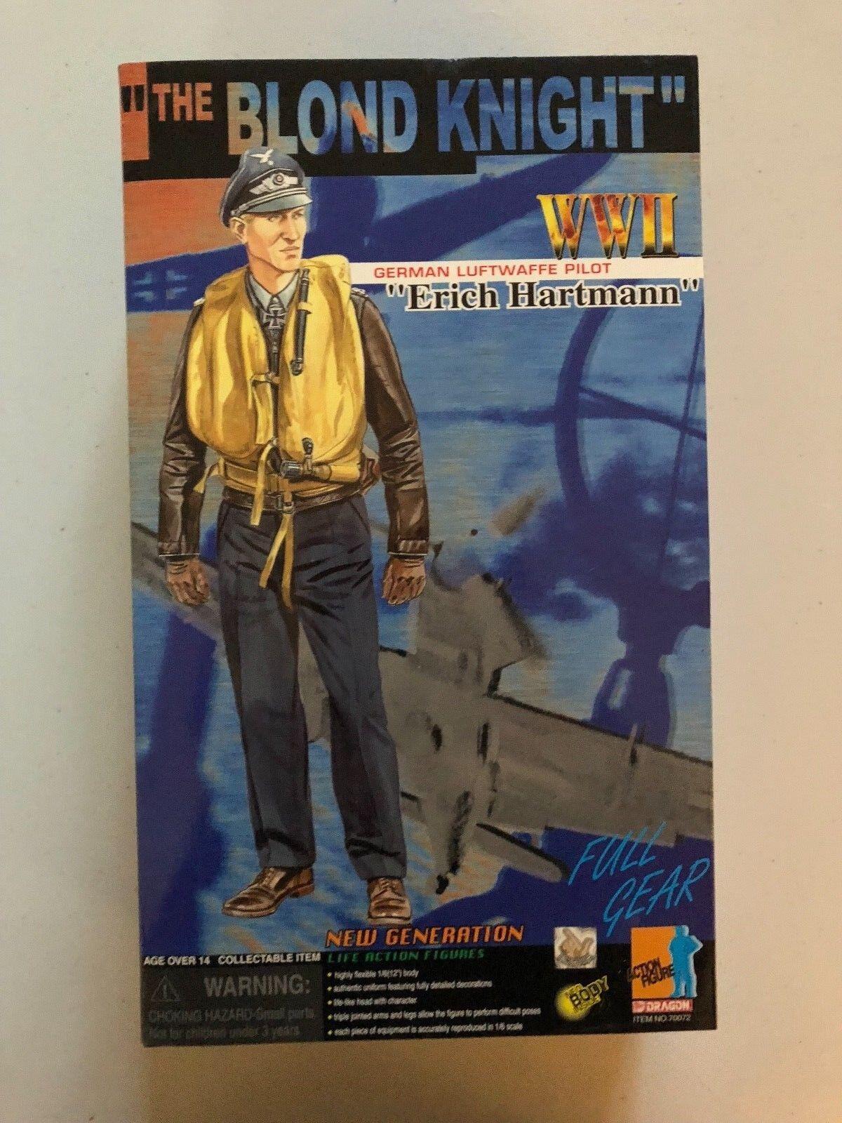 Dragón de la segunda guerra mundial 1 6 'El Rubio Knight' Alemán Luftwaffe piloto  Erich Hartmann