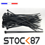 miniature 4 -  6 à 100pcs attache câble blanc noir rilsan Colson100, 200, 300 x 4,8 3,6 2,5 mm