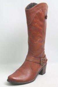 Caprice-Stiefel-braun-Leder-Warmfutter-Gr-41-5-UK-7-5