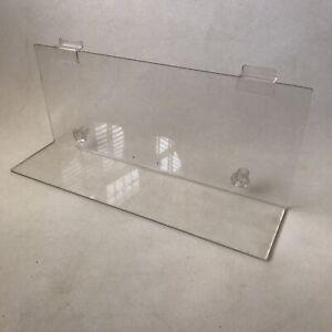 General-Purpose-Slatwall-Shelf-Shop-PVC-Wall-Mount-Display-Clear-W48xH20xD12