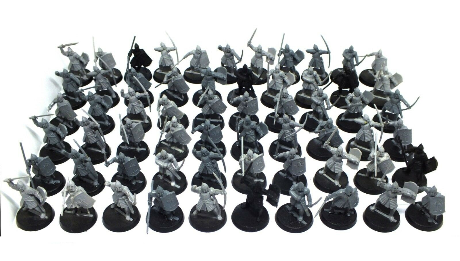 The Lord of the Anneaux - Warriors of Minas Tirith (modèl 4) - 28mm