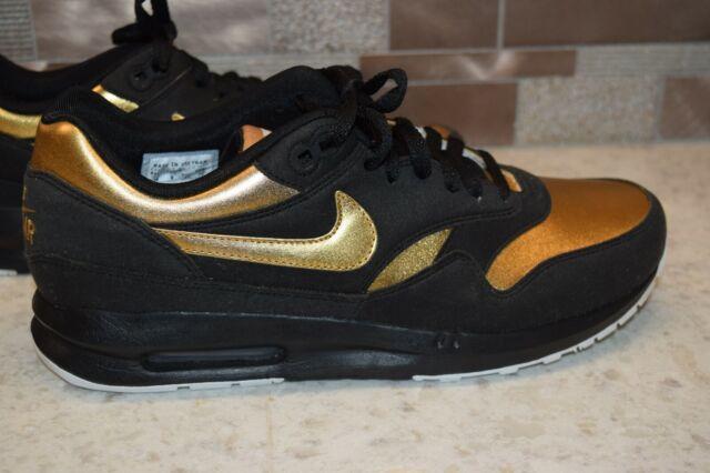 Nike ID Men's Air Max Zero RARE Colorway BlackGoldWhite Size 10 US