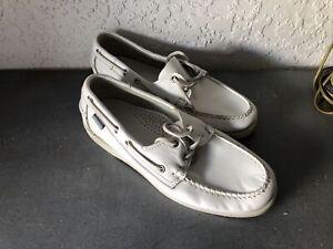 sebago mens shoes size us 9 dockside casual leather upper