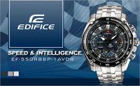 neu HERRENUHR watch-CASIO EDIFICE RED BULL EF-550RBSP-1AV