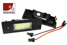 BMW, Fiat, Alfa Romeo License Licence Number Plate LED Lamp