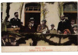 Arthur-Balfour-Pm-Palestina-1925-PC-Postal-Sokolov-Judaico-Zion-Ordmann-Israel