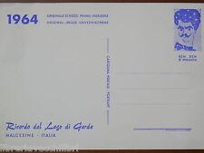 schizzo originale penna indelebile BEN BEN DI MALCESINE Benedetti Beniamino 1964