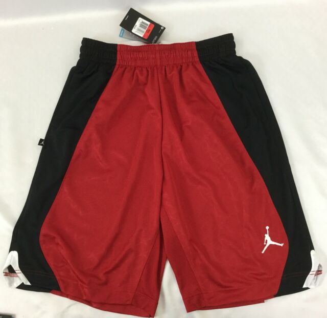 finest selection 6128c bc236 Jordan Nike Flight Knit Basketball Shorts Men XL Red Black 820645