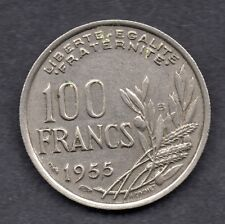 Francia 100 francos 1955 moneda B/U