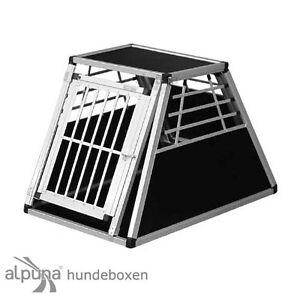 Boîte de transport pour chien N41 Boîte de transport pour chien Boîte en aluminium Alubox Autobox